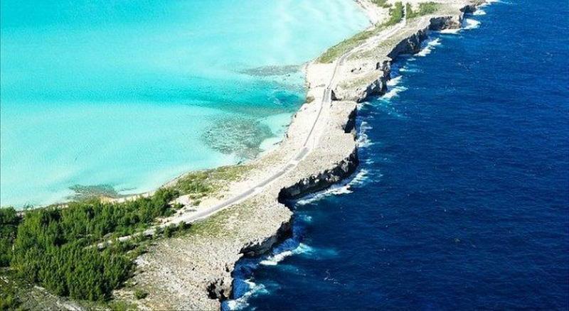 đại tây dương tiếp giáp với caribbean