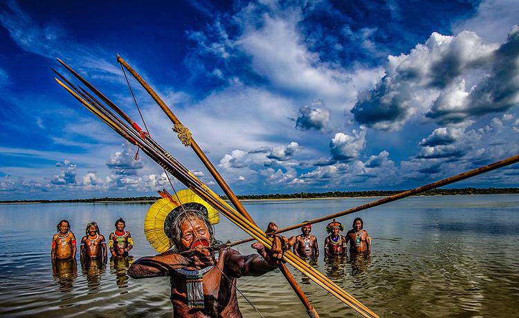 thổ dân amazon