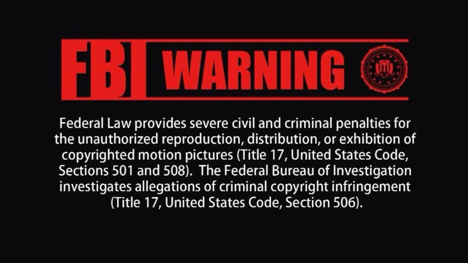 fbi warning là gì