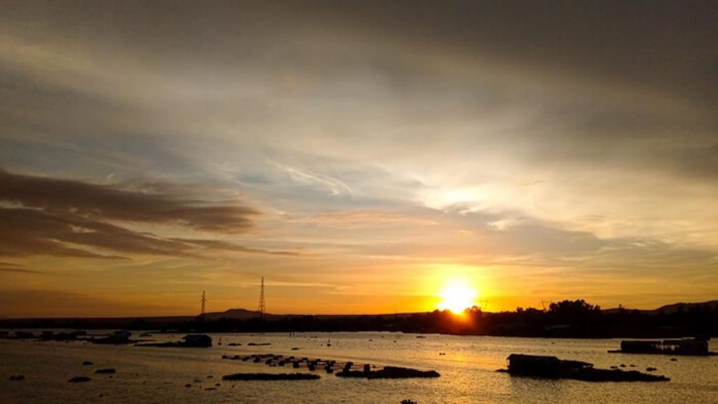 mặt trời mọc