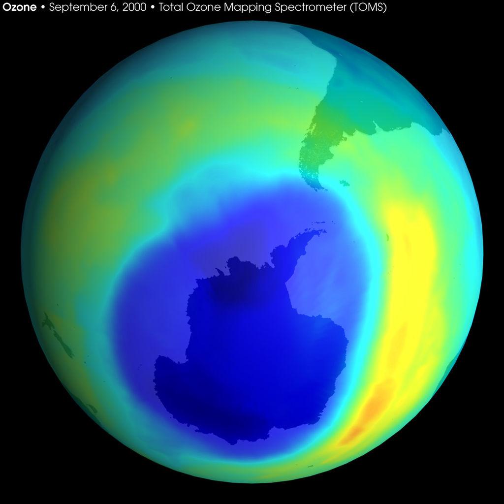 thủng tầng ozon