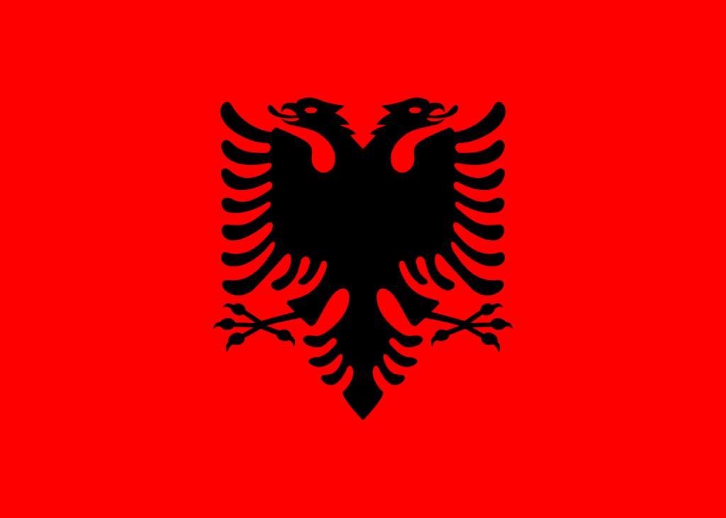 quốc kì albania